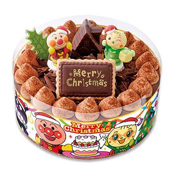 それいけ! アンパンマンチョコケーキ (クリスマスパーティー)