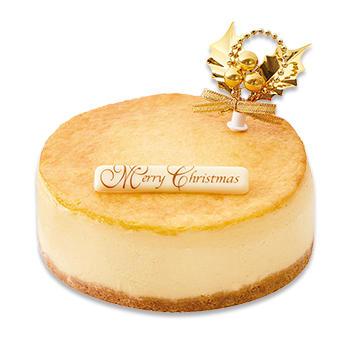 クリスマス濃厚ベイクドチーズケーキ