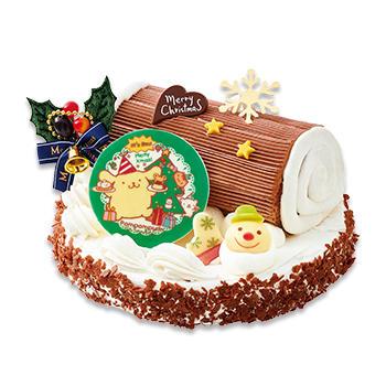 不二家のポムポムクリスマスケーキ