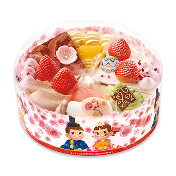 ひなまつりアソートケーキ バラエティ キャラクター ひなまつり ケーキ 洋菓子 株式会社不二家