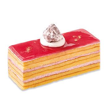 栃木県産とちおとめのバウムケーキ