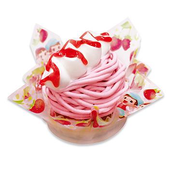 福岡県産あまおう苺のモンブラン