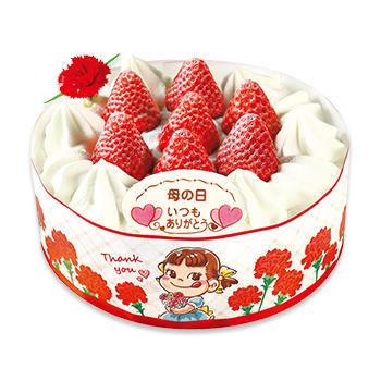 母の日 苺のショートケーキ(SS・S・M・L)