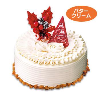 クリスマスフルーツバターケーキ