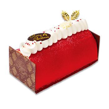 クリスマス雪降る苺のブッシュ・ド・ノエル