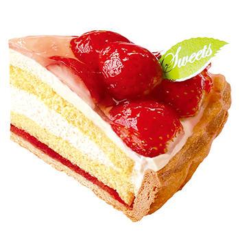 たっぷり苺のパイ