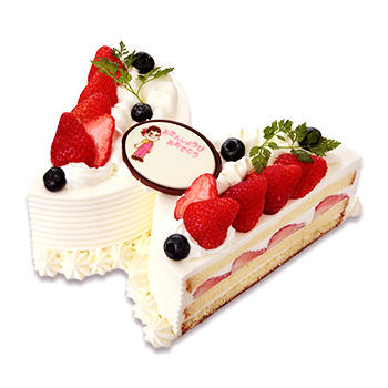 ちょうちょショートケーキ(苺)