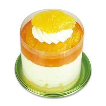 熊本県産甘夏のレアチーズケーキ