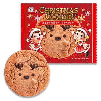あまおう苺香るペコちゃんクッキー