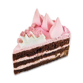 フランボワーズチョコケーキ