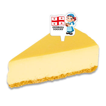 ジョージアヨーグルトベイクドチーズケーキ