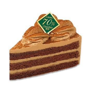 おいしい糖質低減チョコレートケーキ