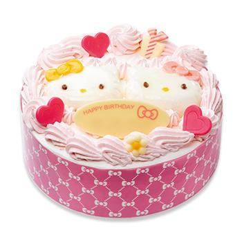 KITTY&MIMMYスマイルケーキ