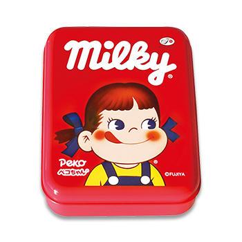 ミルキー缶