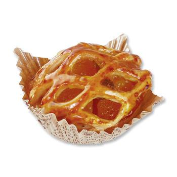 煮込みりんごのアップルパイ