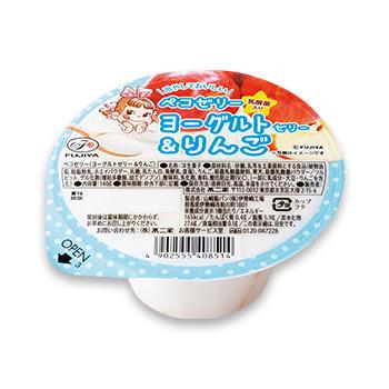 ペコゼリー(ヨーグルトゼリー&りんご)