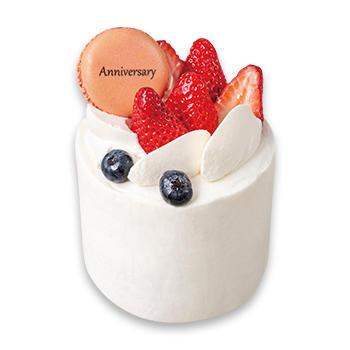 プレミアムアニバーサリー苺のショートケーキ