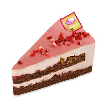 ルビーカカオクリームのケーキ~フランボワーズ仕立て~