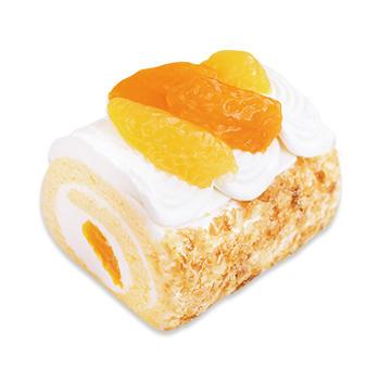 爽やか柑橘のロールケーキ