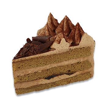 夏のコーヒーチョコ生ケーキ