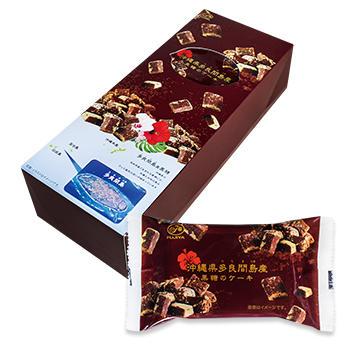沖縄県多良間島産黒糖のケーキ(5個入)