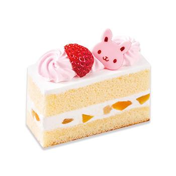うさぎのショートケーキ(苺)