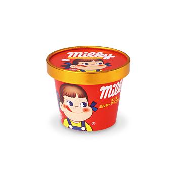 カップアイス(ミルキー)