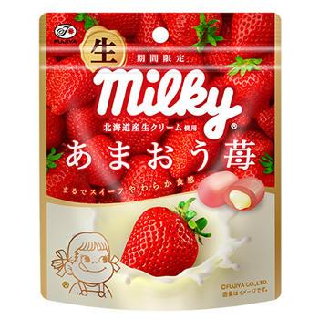 34g生ミルキー(あまおう苺)袋