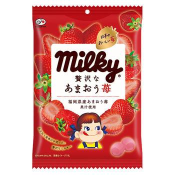 80gミルキー(あまおう苺)袋
