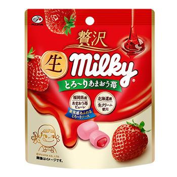 34g贅沢生ミルキー(とろーりあまおう苺)