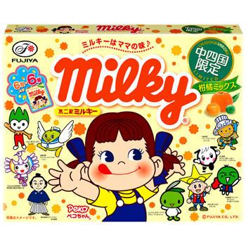 【中四国限定】ミルキー(柑橘ミックス)