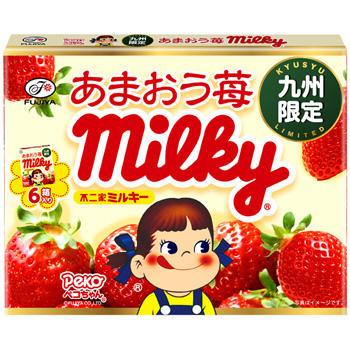 【九州限定】ミルキー(あまおう苺)