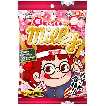 80g桜咲くミルキー袋