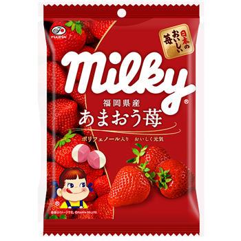 80gあまおう苺ミルキー(ポリフェノール)袋