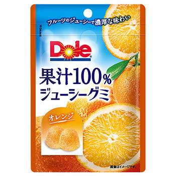40gドール果汁100%ジューシーグミ(オレンジ)