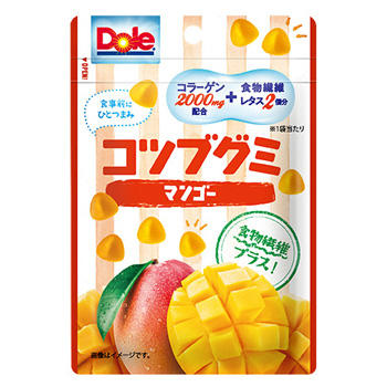 37gドールコツブグミマンゴー(食物繊維プラス)
