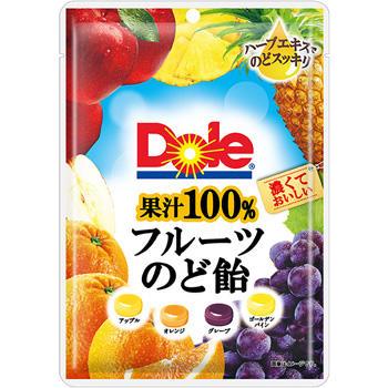 70gドール果汁100%フルーツのど飴アソート袋