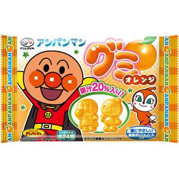 6粒アンパンマングミ(オレンジ)