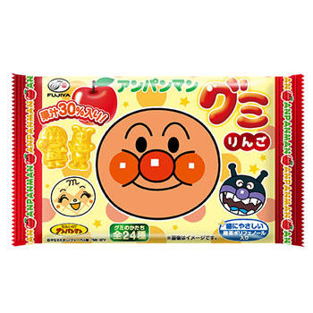 6粒アンパンマングミ(りんご)