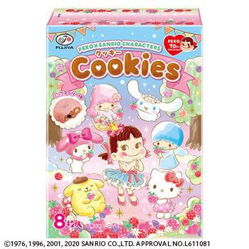 8枚ペコ×サンリオキャラクターズクッキー