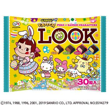 30粒イースターペコ×サンリオキャラクターズルック(ア・ラ・モード)ファミリーパック