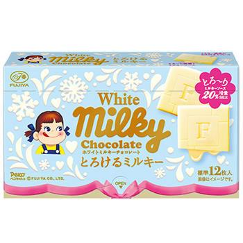 60gホワイトミルキーチョコレート(とろけるミルキー)