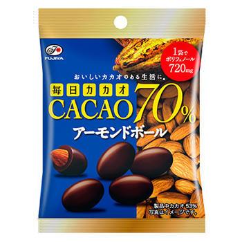 35g毎日カカオ70%(アーモンドボール)MP