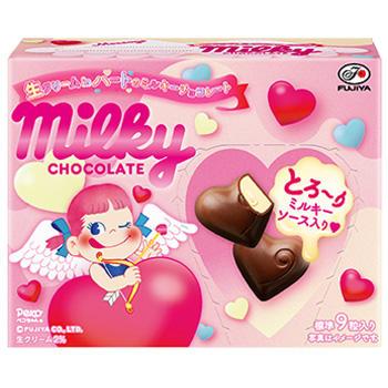 46g生クリームinハートのミルキーチョコレート