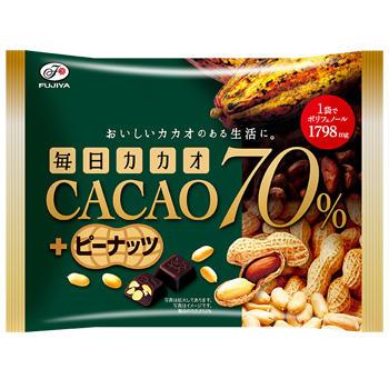 152g毎日カカオ70%(ピーナッツ)