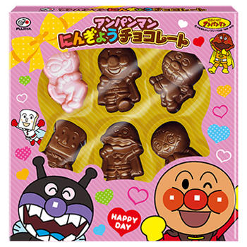 46gアンパンマンにんぎょうチョコレート