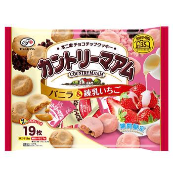 19枚カントリーマアム(バニラ&練乳いちご)