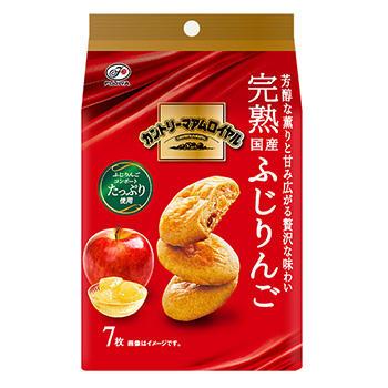 7枚カントリーマアムロイヤル(完熟国産ふじりんご)