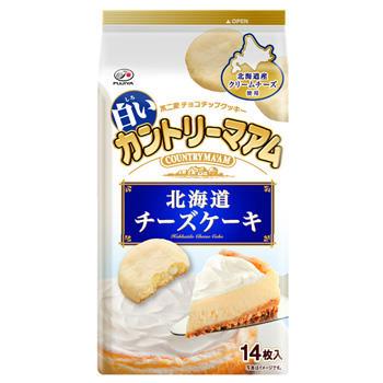 14枚白いカントリーマアム(北海道チーズケーキ)