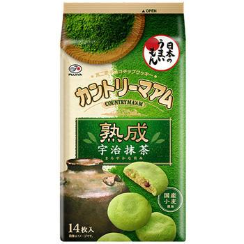 14枚カントリーマアム(熟成宇治抹茶)